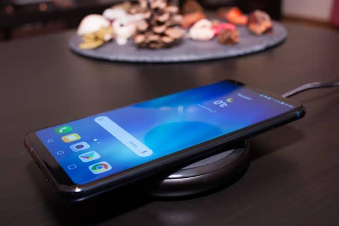 LG V30 Wireless Charging lg v30 LG V30 im Test: Zwischen Licht und Schatten 16 Wireless Charging LG V30 660x440