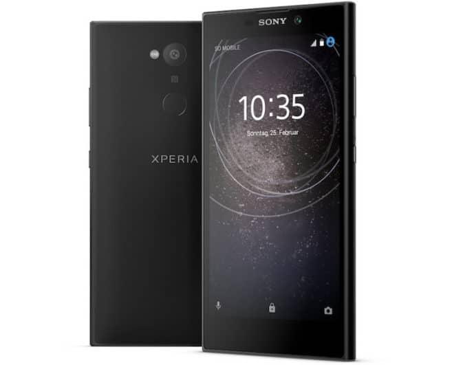 Sony L2 - Sony sony CES 2018: Sony bringt drei neue Smartphones fürs Einsteiger- und Mittelklasse-Segment Sony L2 660x531