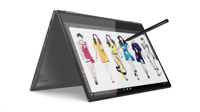 Lenovo Yoga 730  MWC 2018: Lenovo bringt neue Notebooks mit Windows und Chrome OS Write or draw on Windows Ink on 15 inch Lenovo Yoga 730 660x371