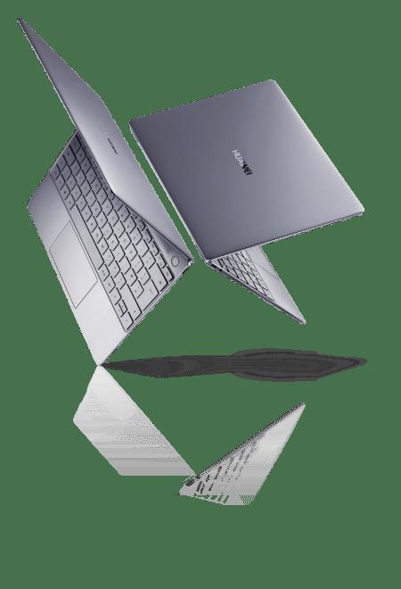 Huawei MateBook x huawei MWC 2018: Huawei-Rundumschlag mit Huawei MediaPad M5 und MacBook Konkurrent MateBook X matebook x kv grey landscape 450x660