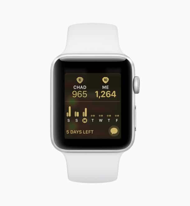 WWDC 2018: Alle Neuerungen im Überblick Apple watchOS 5 Competitions 610x660