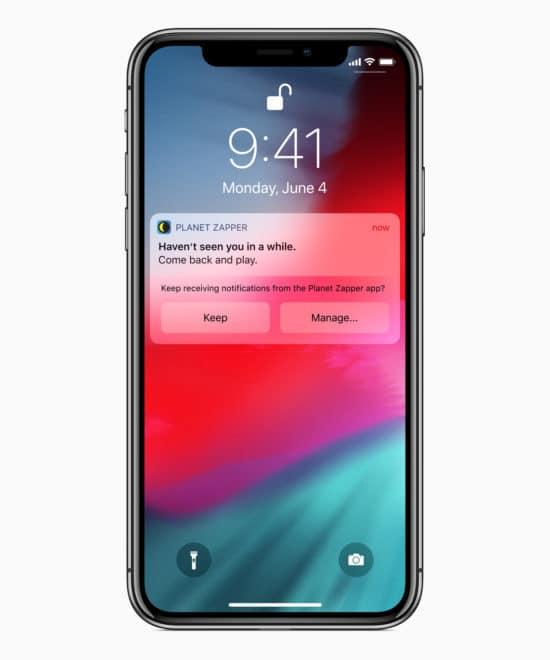 WWDC 2018: Alle Neuerungen im Überblick ios12 siri app notifications 06042018 550x660
