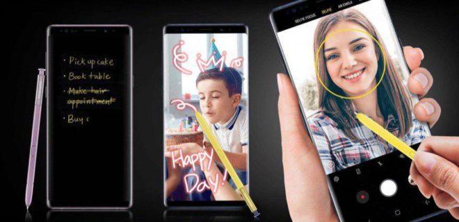 Samsung Galaxy Note 9 mit S-Pen - Samsung  Samsung Galaxy Note 9 vorgestellt: Phablet mit Bluetooth-S-Pen und 512 GB Speicher Samsung Note 9 S Pen 660x320