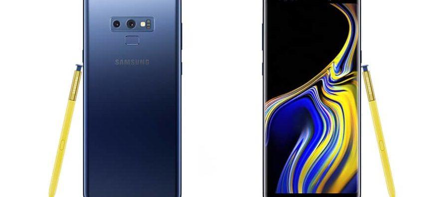 Samsung Galaxy Note 9 vorgestellt: Phablet mit Bluetooth-S-Pen und 512 GB Speicher
